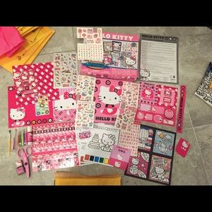 hello kitty scrapbook kit